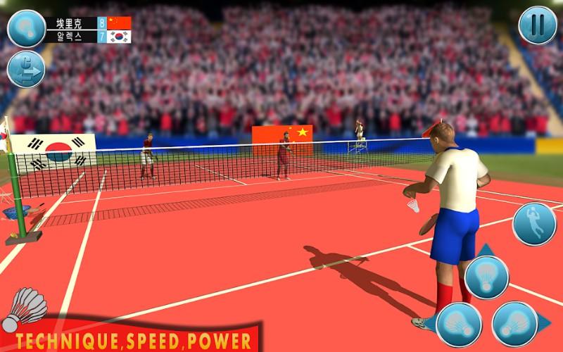 Bulutangkis perdana Liga Game 3D Olahraga Bulutangkis