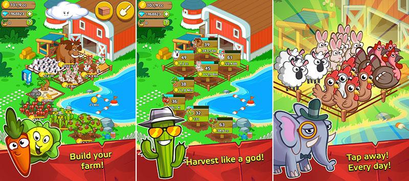 Farm and Click - Idle Farming Clicker