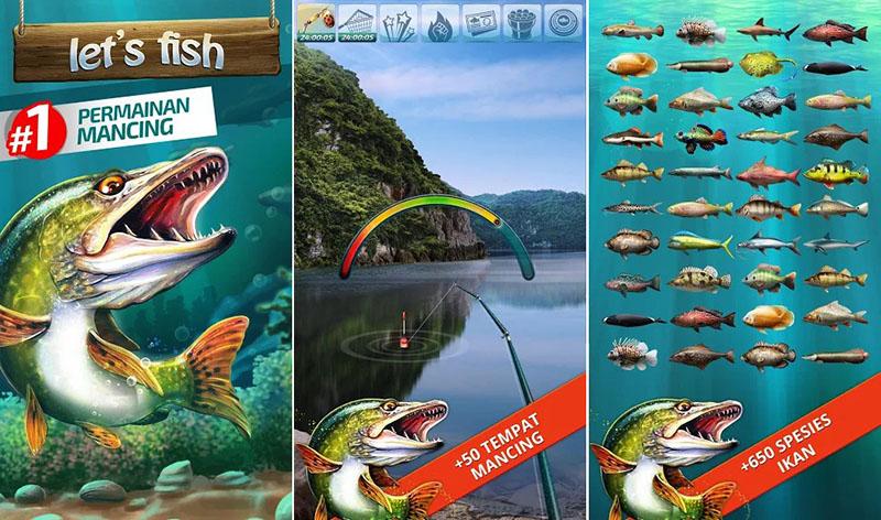 Let's Fish-Permainan Memancing.Simulator Perikanan 1