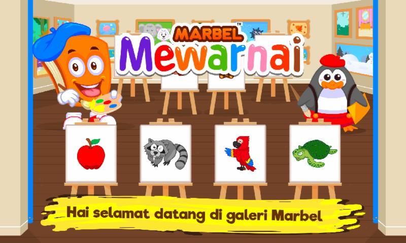 Marbel Buku Mewarnai Anak-Anak