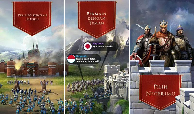 March of Empires Perang Sultan