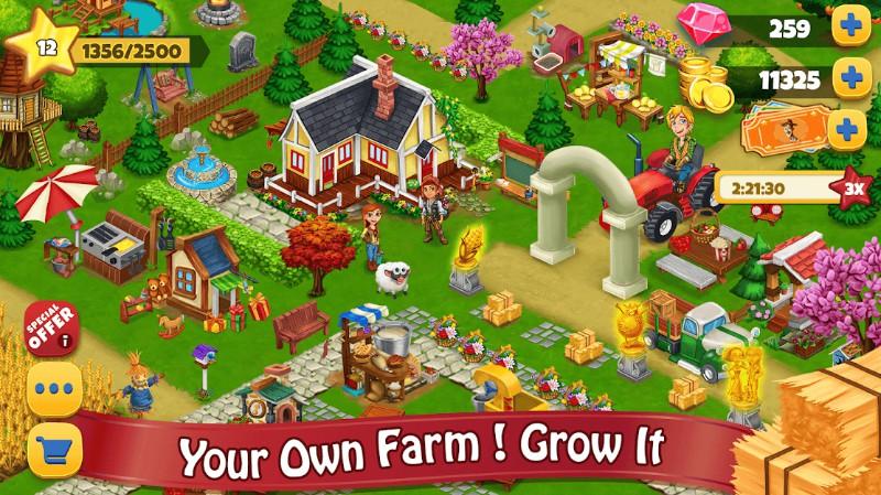Pertanian Hari Village Pertanian Offline Game