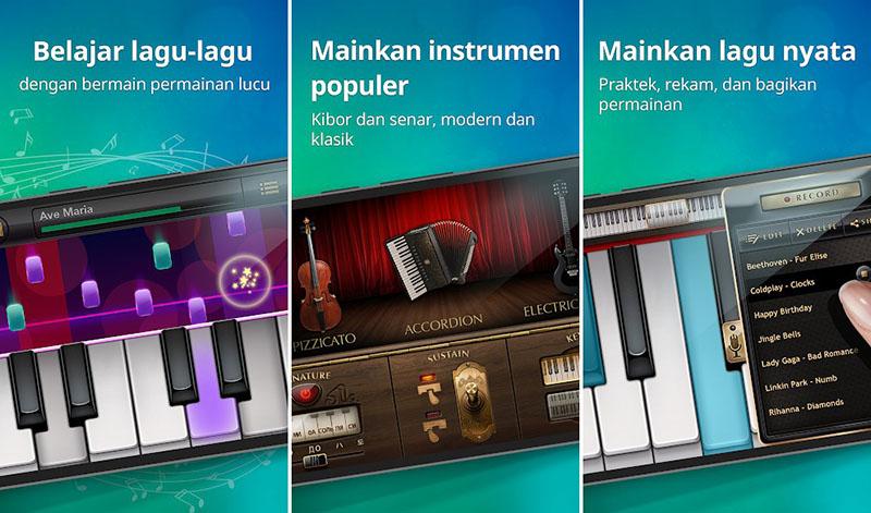 Piano Nyata - Lagu dan Permainan Musik Bermain