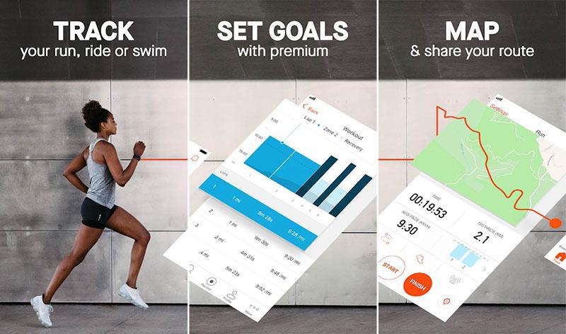 Strava Training Track Running, Cycling & Swimming
