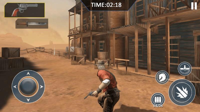 Cowboy Hunting Gun Shooter