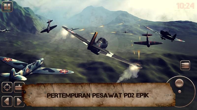 Pesawat Tempur PD 2 Game Pertempuran Pesawat