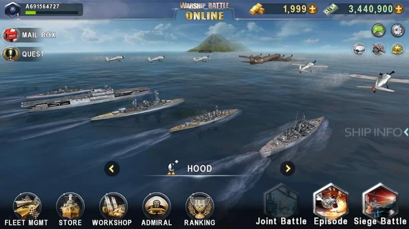 Warship Battle Online