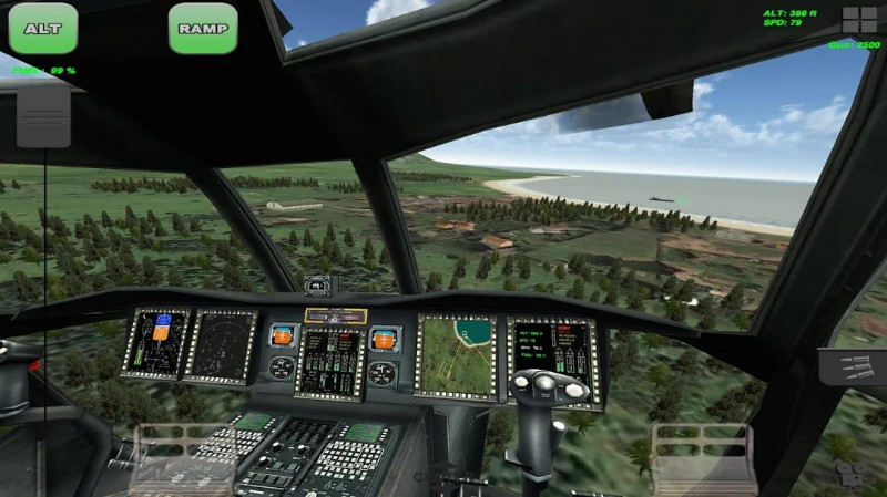 Chinook Helicopter Flight Sim