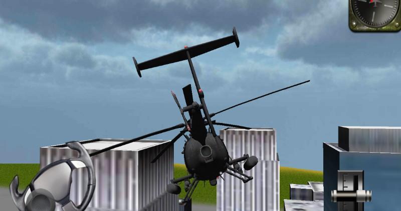 Helikopter 3D flight simulator