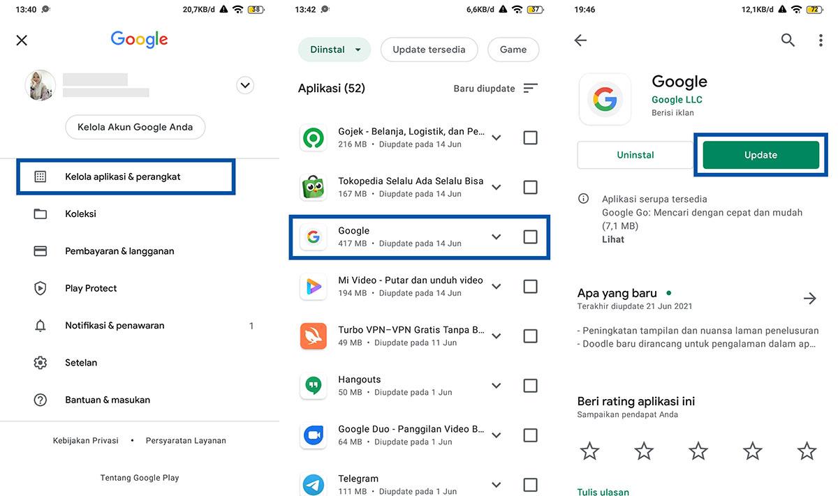 10 Cara Mengatasi Google Terus Berhenti Di Hp Android Update