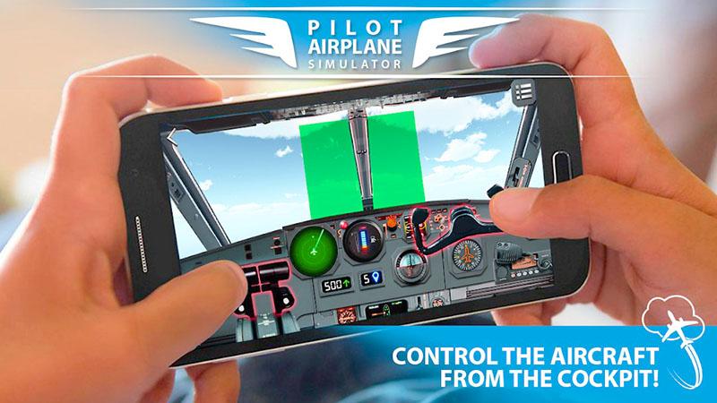 Pilot Pesawat simulator 3D