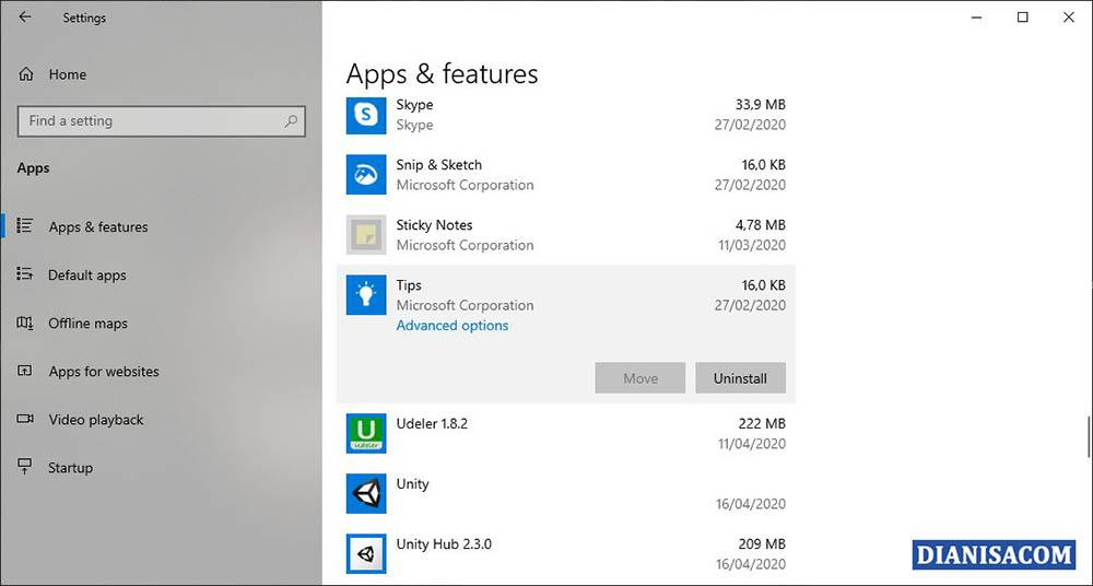 Menghapus Aplikasi Bawaan Windows 10