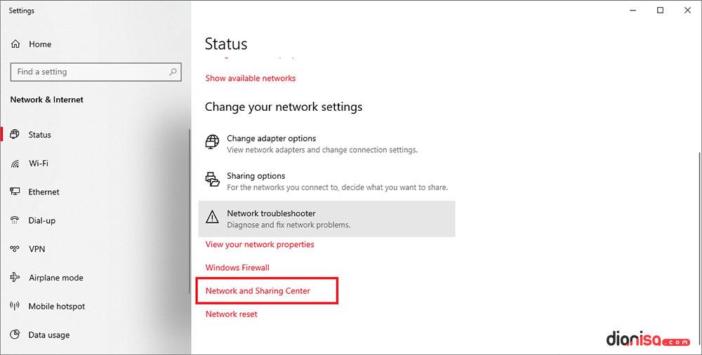 2. Melihat Password WiFi Laptop