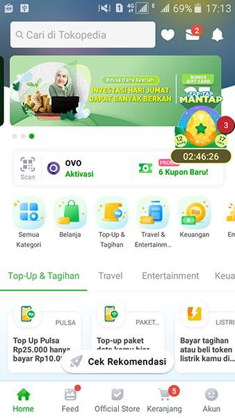 App Tokopedia