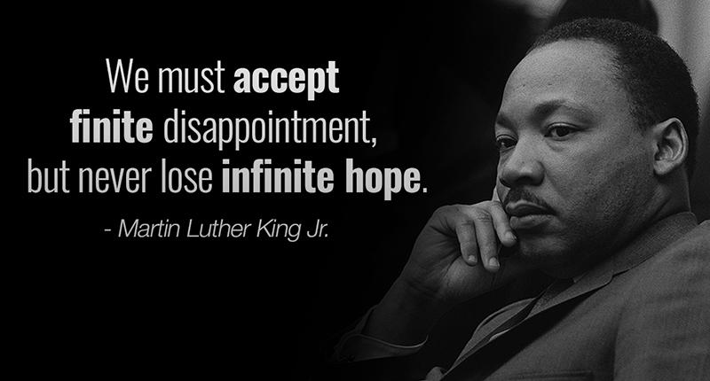 Kutipan Martin Luther King Tentang Harapan