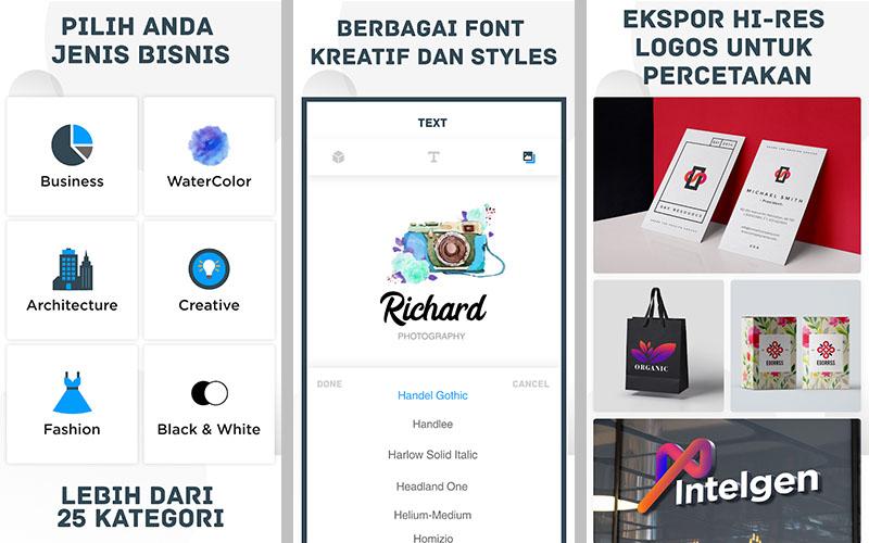 Logo Maker - Font, Template, Design