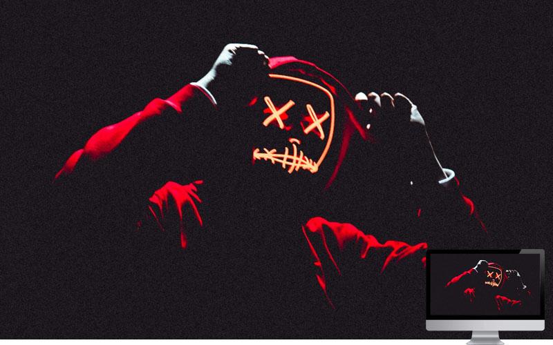 #30. Mask Hood Anonymous Wallpaper