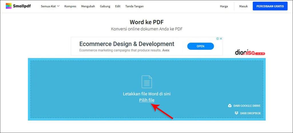 4 Cara Mengubah File Word Ke Pdf Di Laptop Online Offline 2020