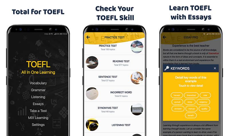 TOEFL Test 2019
