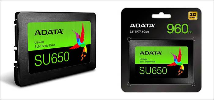 ADATA SU650 3D NAND