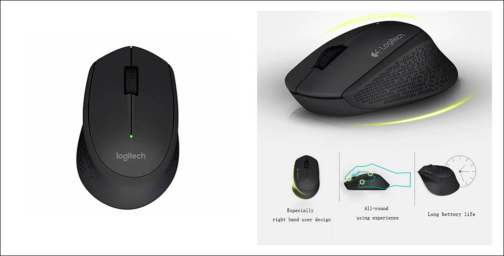 Logitech M280 Mouse Wireless