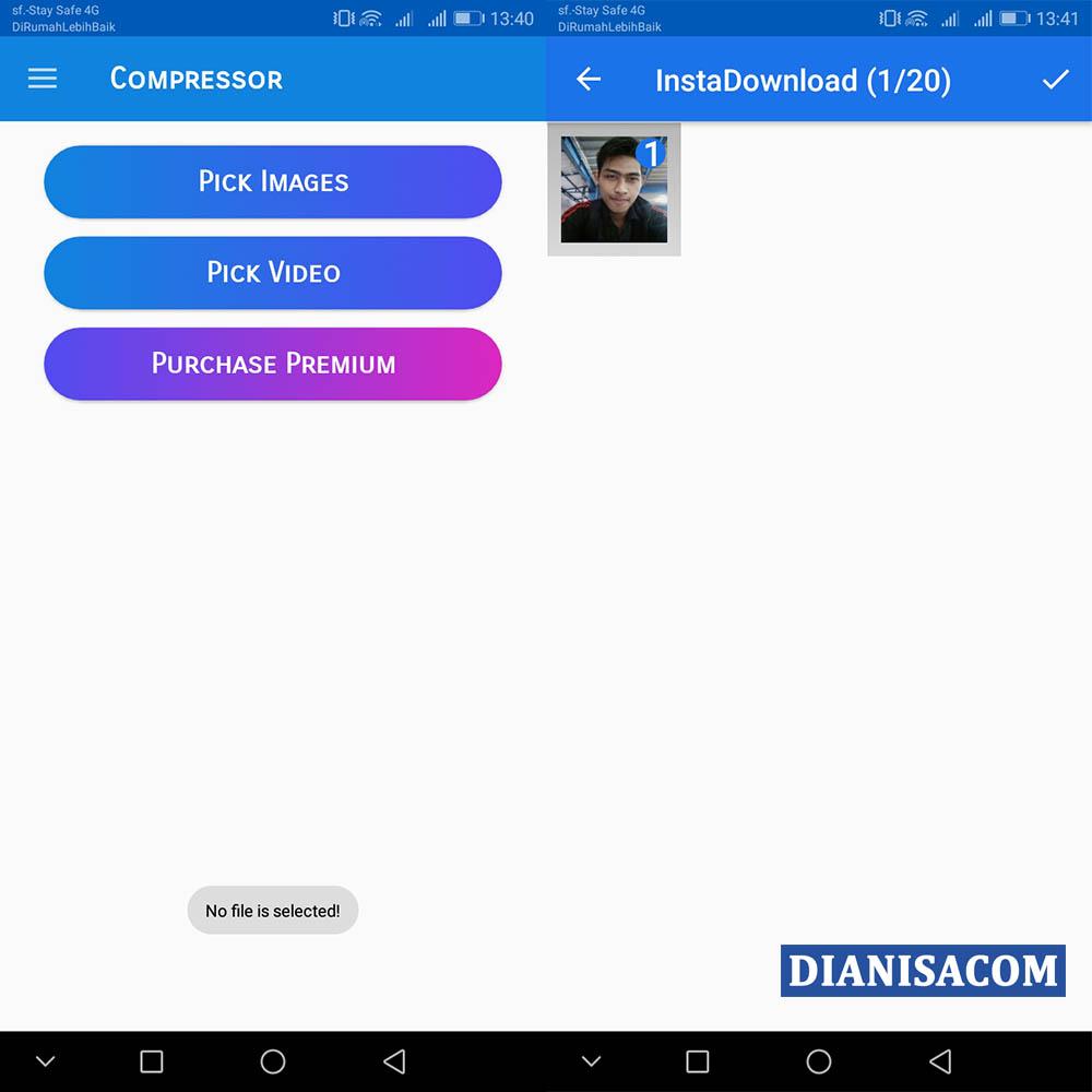 1 Kompres File Foto Android