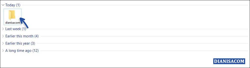 2 Restore default Icon Folder Windows