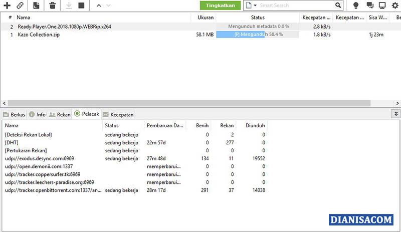 9 File Terintegrasi Utorrent