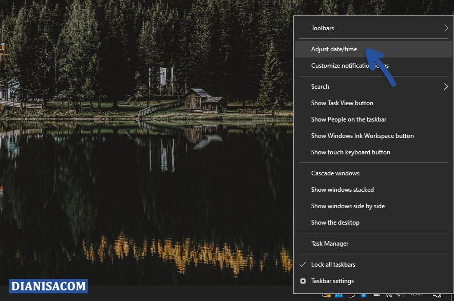 1 Buka Adjust Date Time Windows 10
