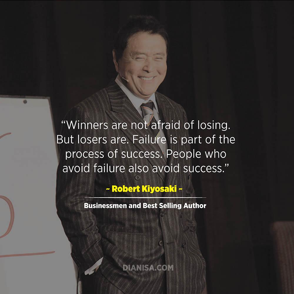 Kata Kata Sukses Robert Kiyosaki