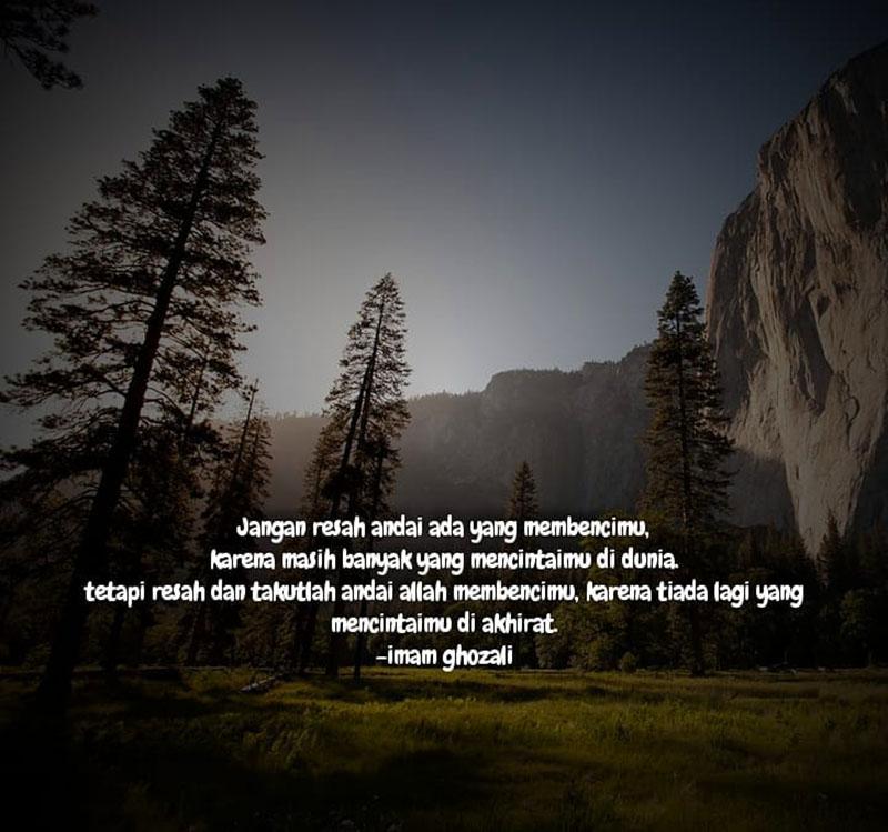 Quotes Imam Al-Ghazali