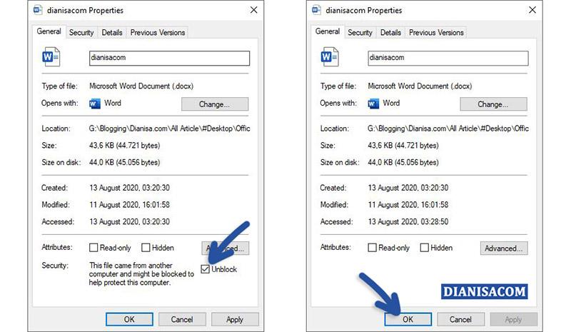 2 Unlock File Microsoft Word
