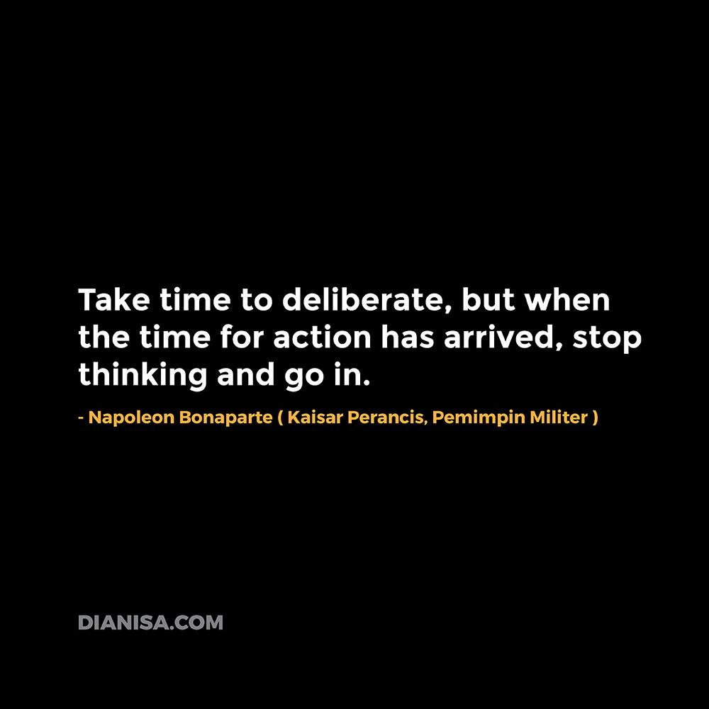 Kata Kata Motivasi Napoleon Bonaparte