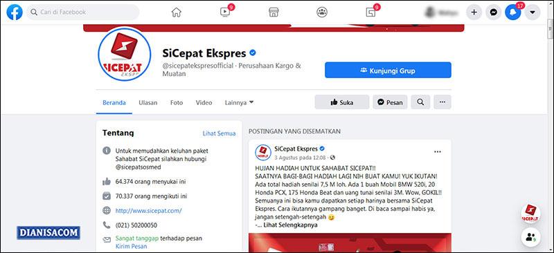 Komplain Media Sosial SiCepat