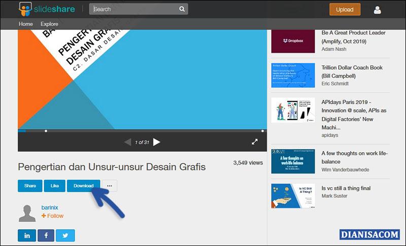 Download SlideShare Dengan Login