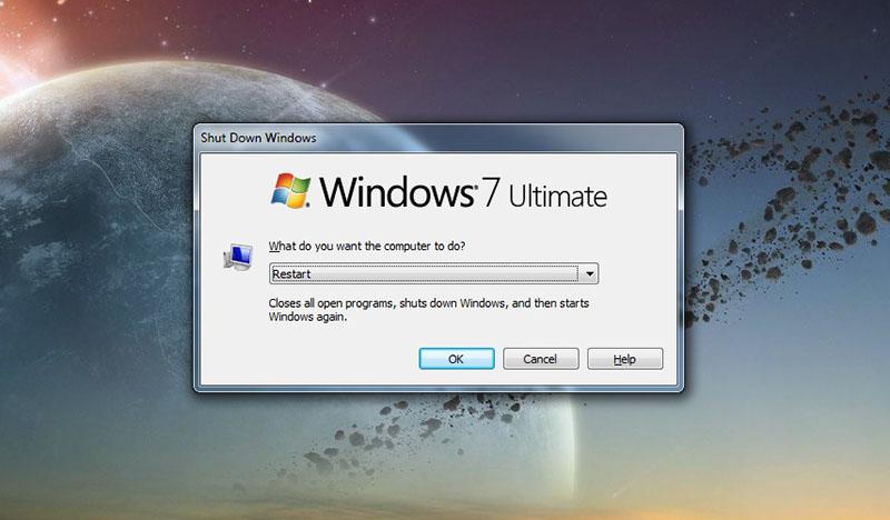 1. Restart Komputer