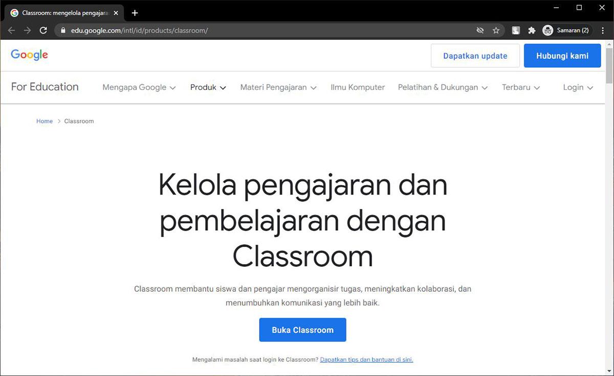 Fungsi dan Manfaat Google Classroom