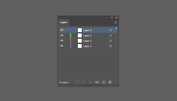 Layer Pallete Adobe Illustrator