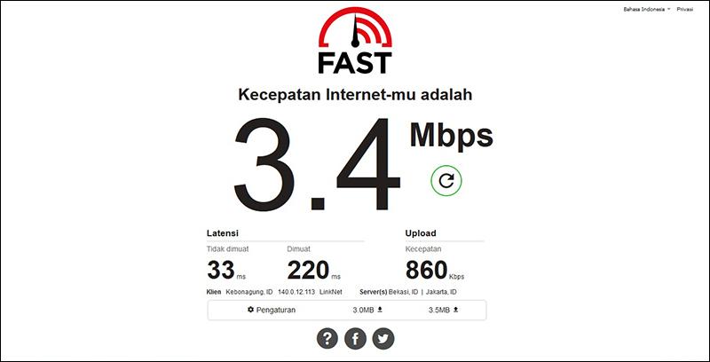 Cek Lewat Situs Fast
