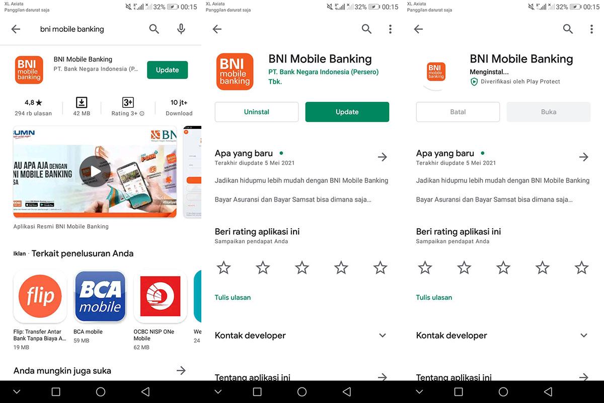 Update BNI Mobile Banking