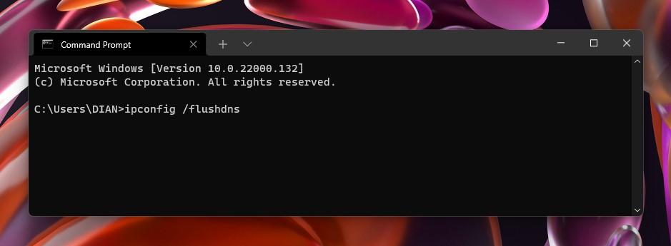 2 flushdns Windows 11
