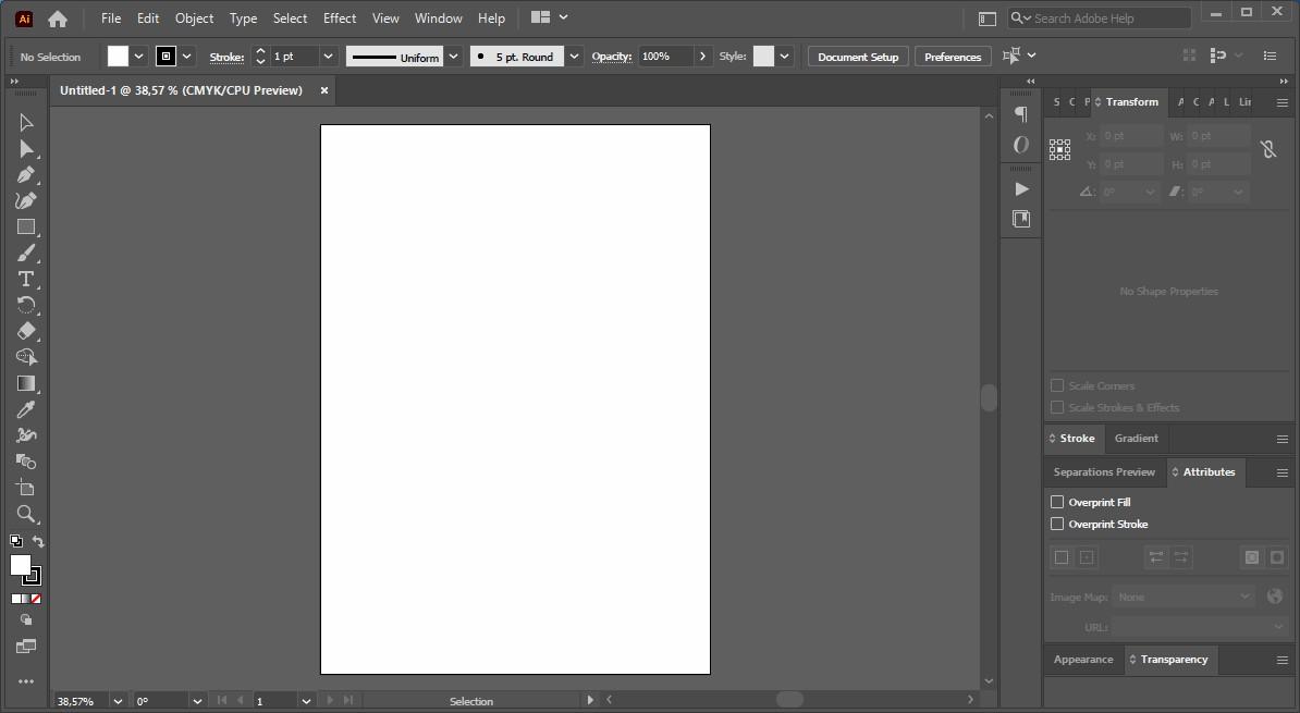 3 Tampilan Adobe Illustrator