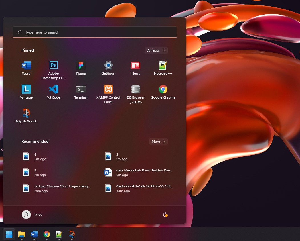 4 Posisi Taskbar Kiri Windows 11