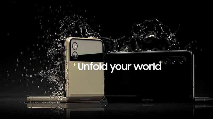 Galaxy Z Fold 3 Tahan Air