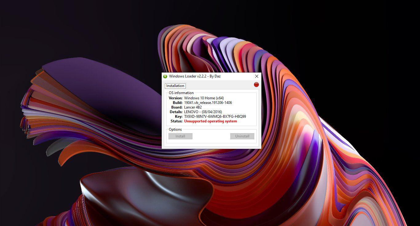 Aktivasi Windows 7 Loader