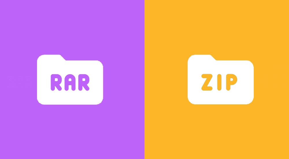 Perbedaan RAR dan ZIP