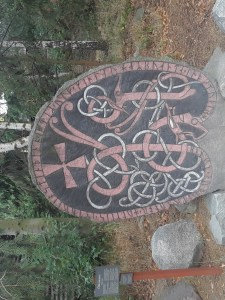 A runestone at Skansen