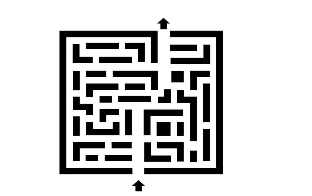 A deceptively easy maze