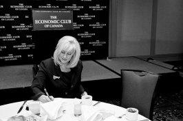 Speech to Economic Club of Canada
