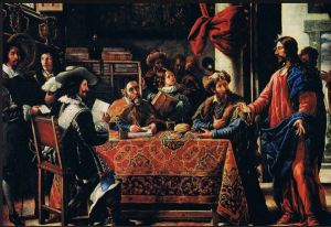 Juan de Pareja, Calling of St. Matthew, 1661. Madrid, Prado Museum. Photo: Circa 1440 / Flickr